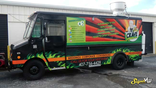 Food Truck Wrap – SignsVW